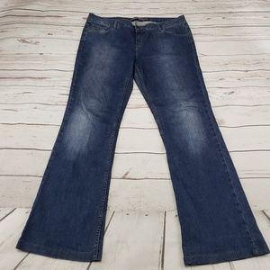 Zara Basic Jeans Size 12 Womens Blue Denim Pants